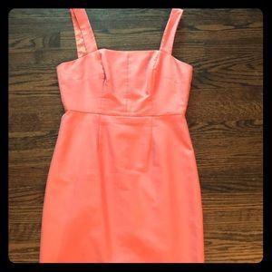 JCrew Size 8 peach colored dress